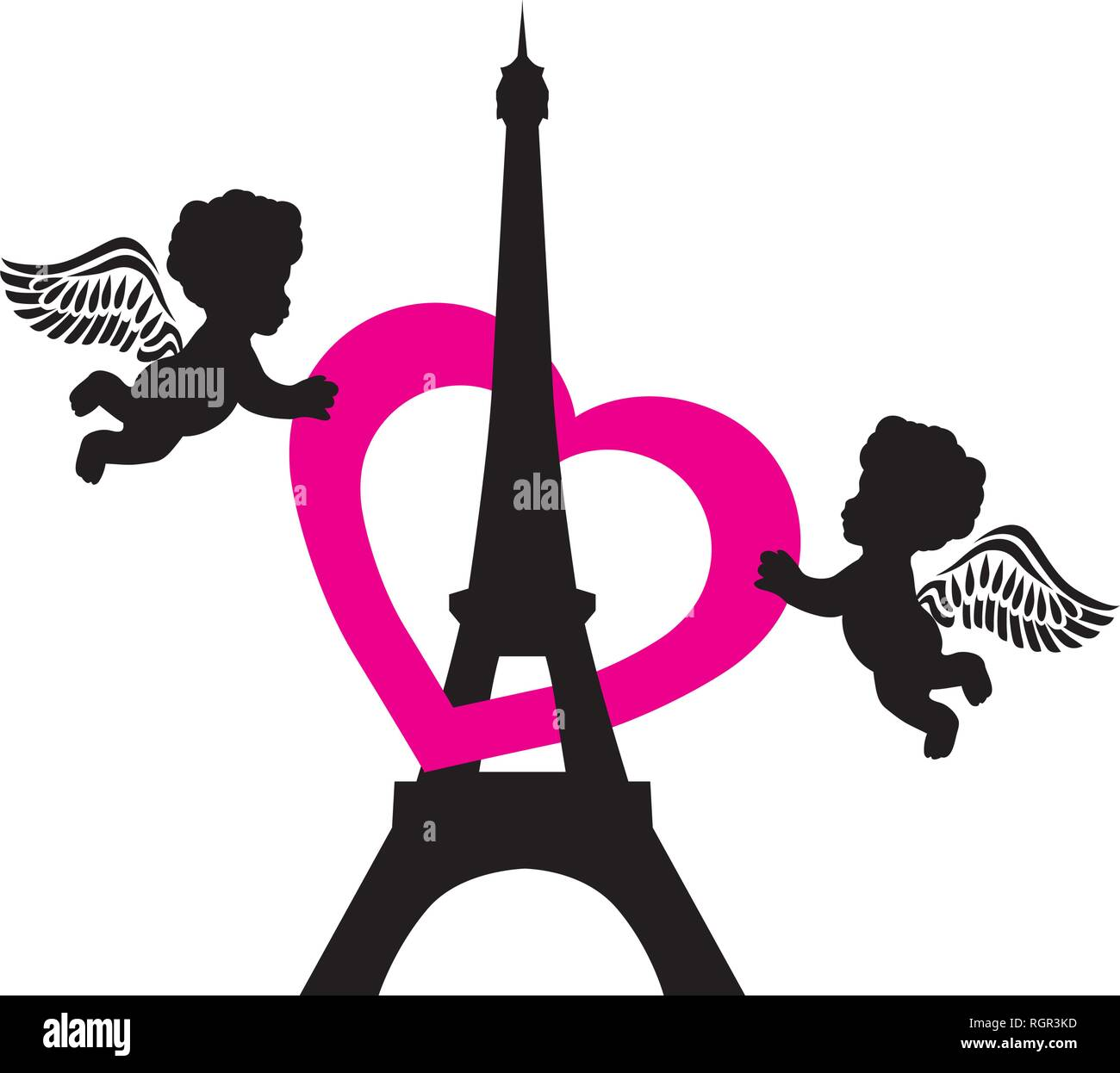 Eiffel Tower Logo High Resolution Stock Photography And Images Alamy