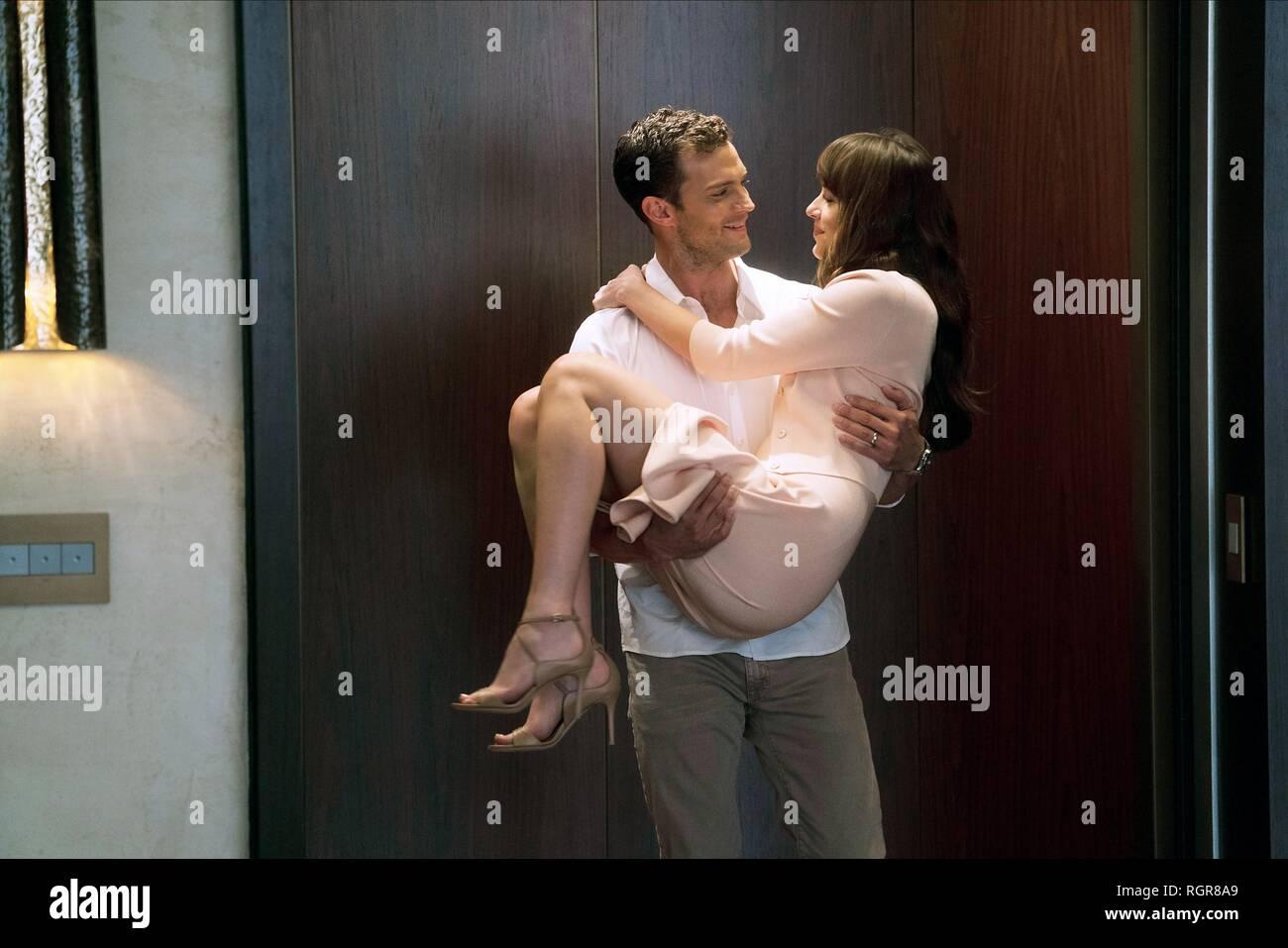 Jamie Dornan Dakota Johnson Fifty Shades Freed 2018 Stock Photo Alamy