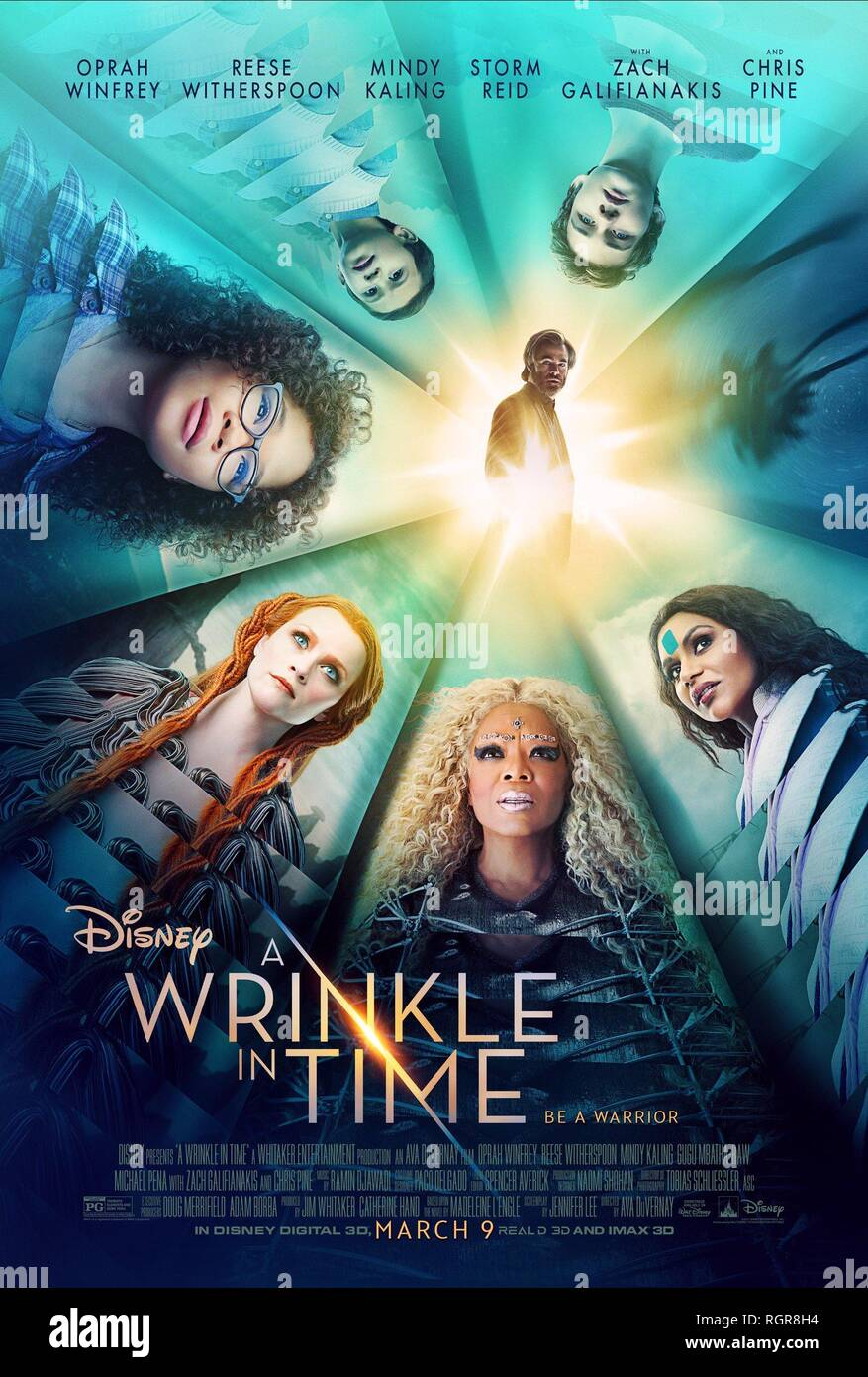 MOVIE POSTER A WRINKLE IN TIME (2018) - Stock Image