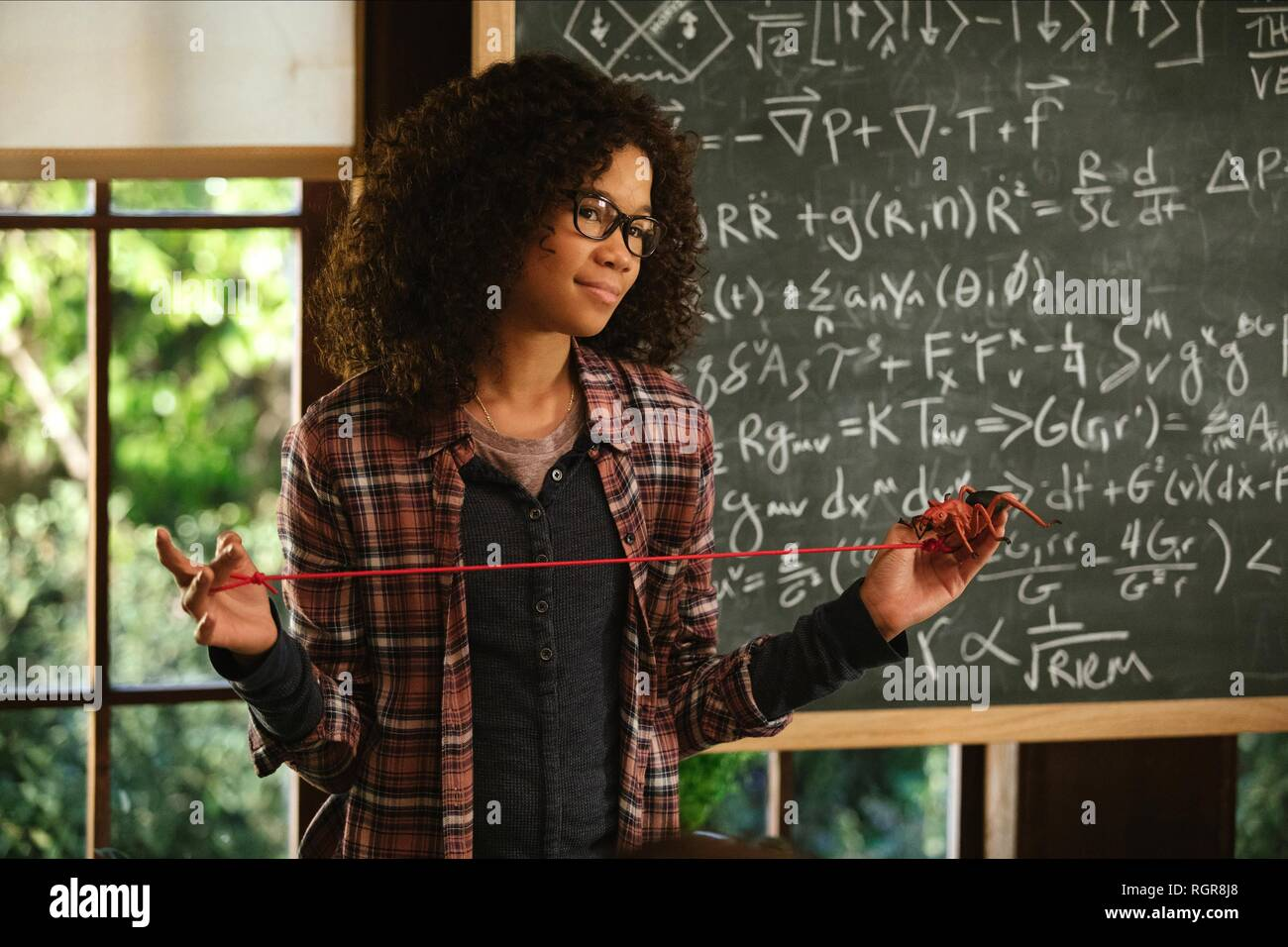 STORM REID A WRINKLE IN TIME (2018) - Stock Image