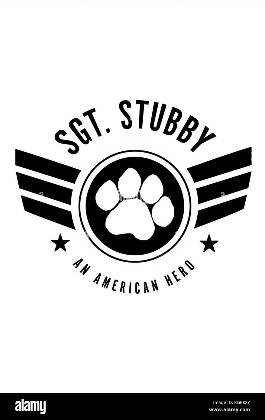 MOVIE POSTER SGT. STUBBY: AN AMERICAN HERO (2018) - Stock Image