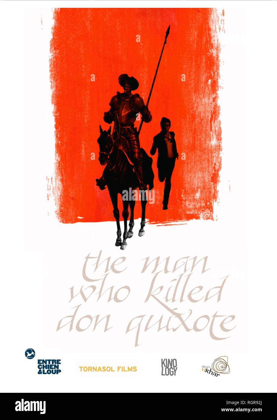 MOVIE POSTER THE MAN WHO KILLED DON QUIXOTE (2018) - Stock Image