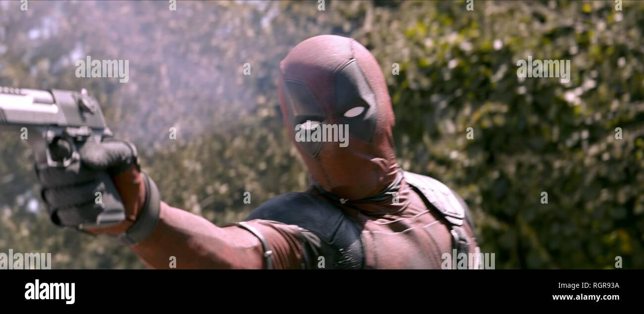 Ryan Reynolds Deadpool 2 2018 Stock Photo Alamy