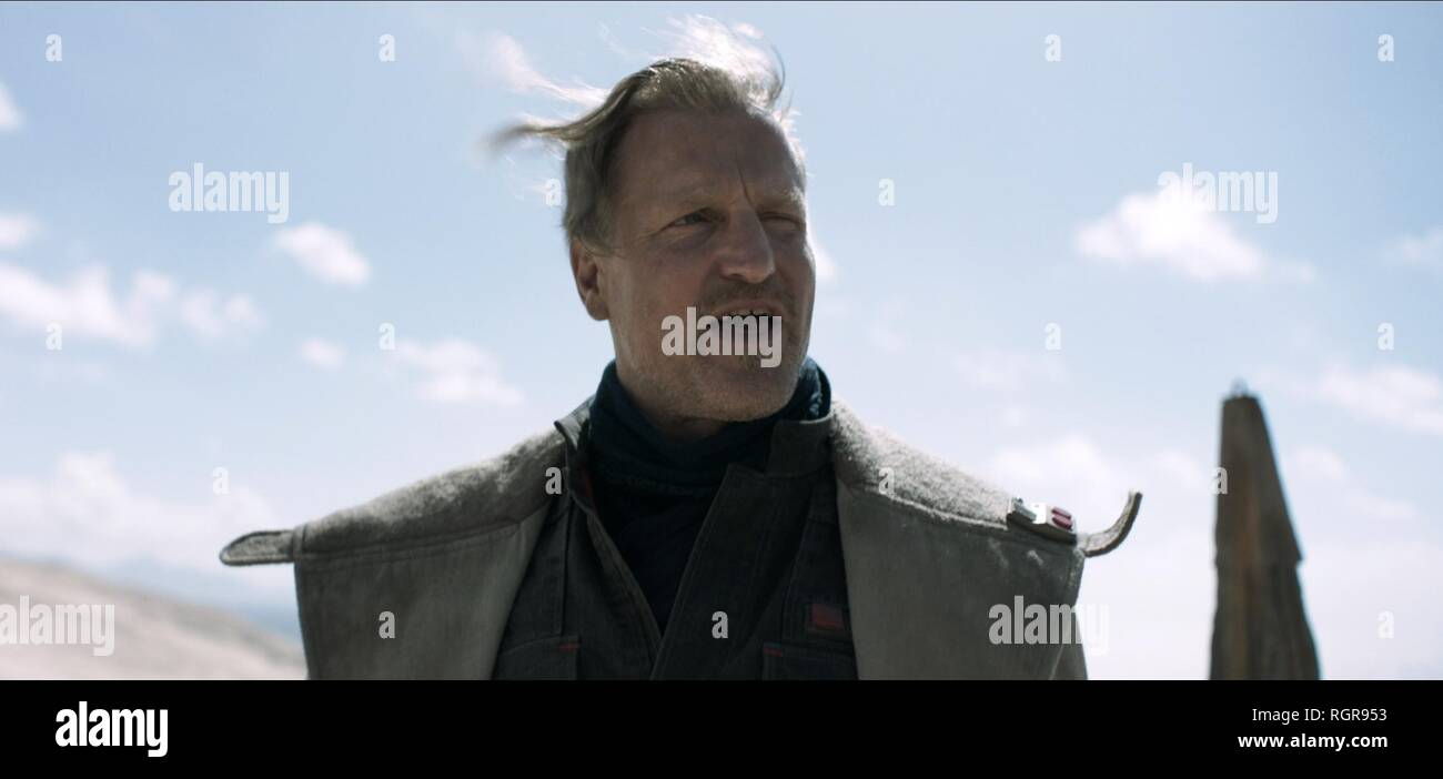 WOODY HARRELSON SOLO: A STAR WARS STORY (2018) - Stock Image