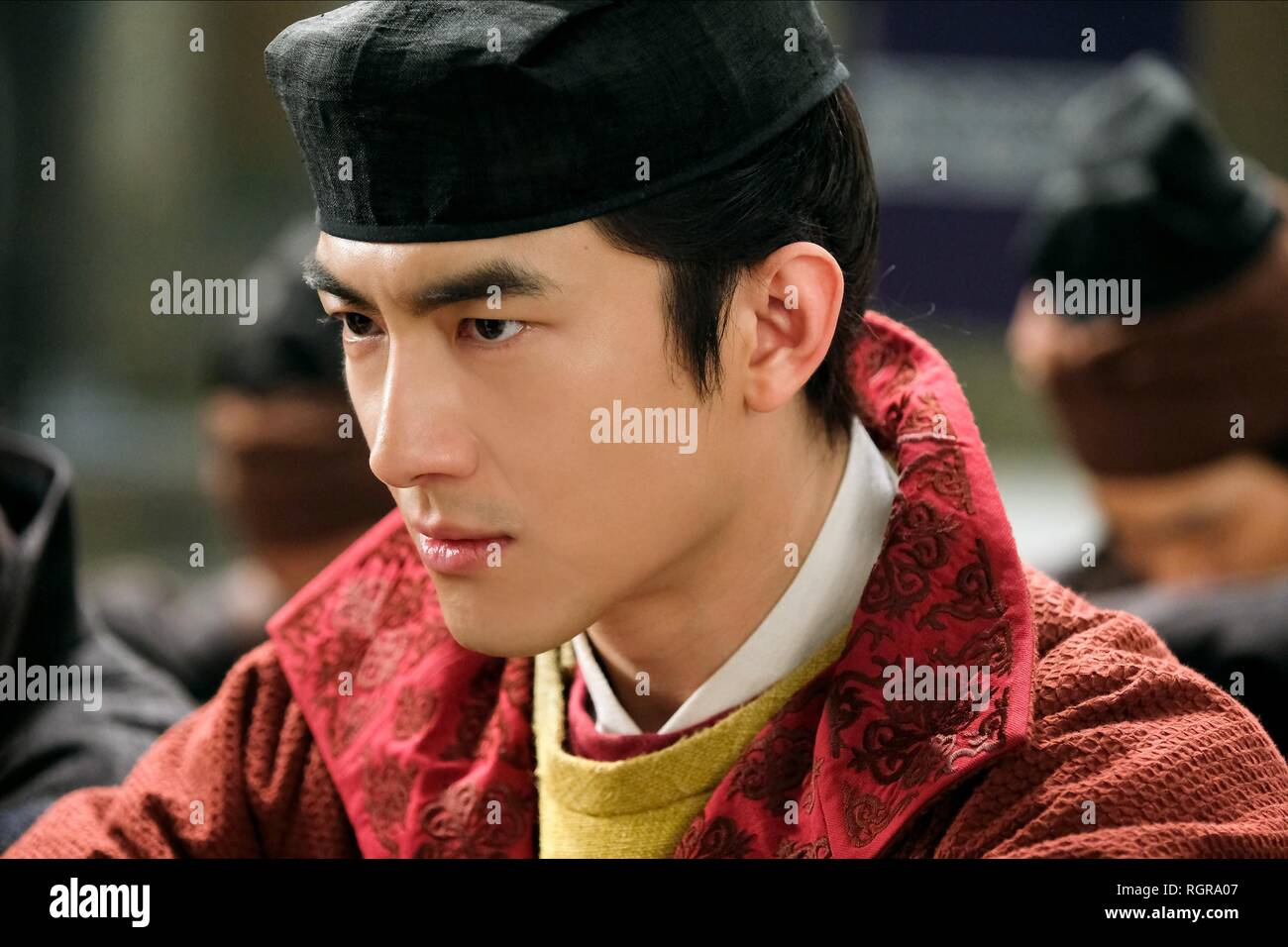 KENNY LIN DETECTIVE DEE: THE FOUR HEAVENLY KINGS; DI RENJIE ZHI SIDATIANWANG (2018) - Stock Image
