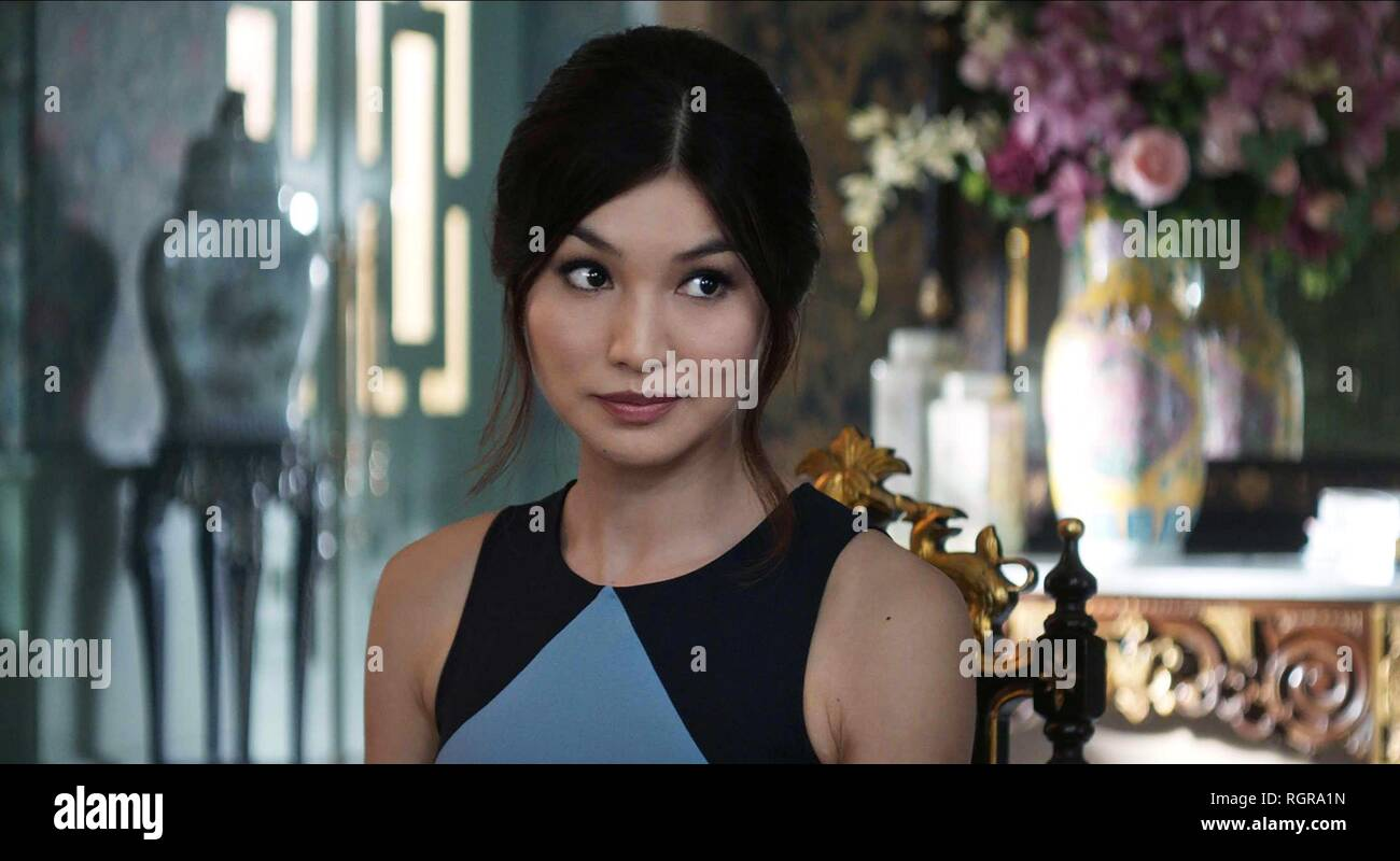 Gemma Chan Crazy Rich Asians 2018 Stock Photo Alamy