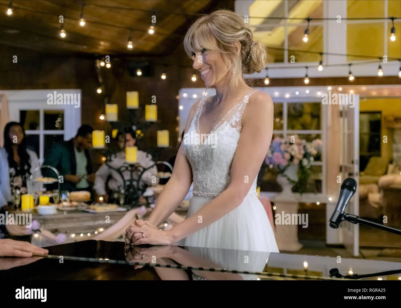 DEBBIE GIBSON WEDDING OF DREAMS (2018) - Stock Image