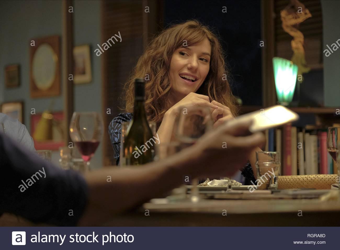 DORIA TILLIER LE JEU; NOTHING TO HIDE (2018) - Stock Image