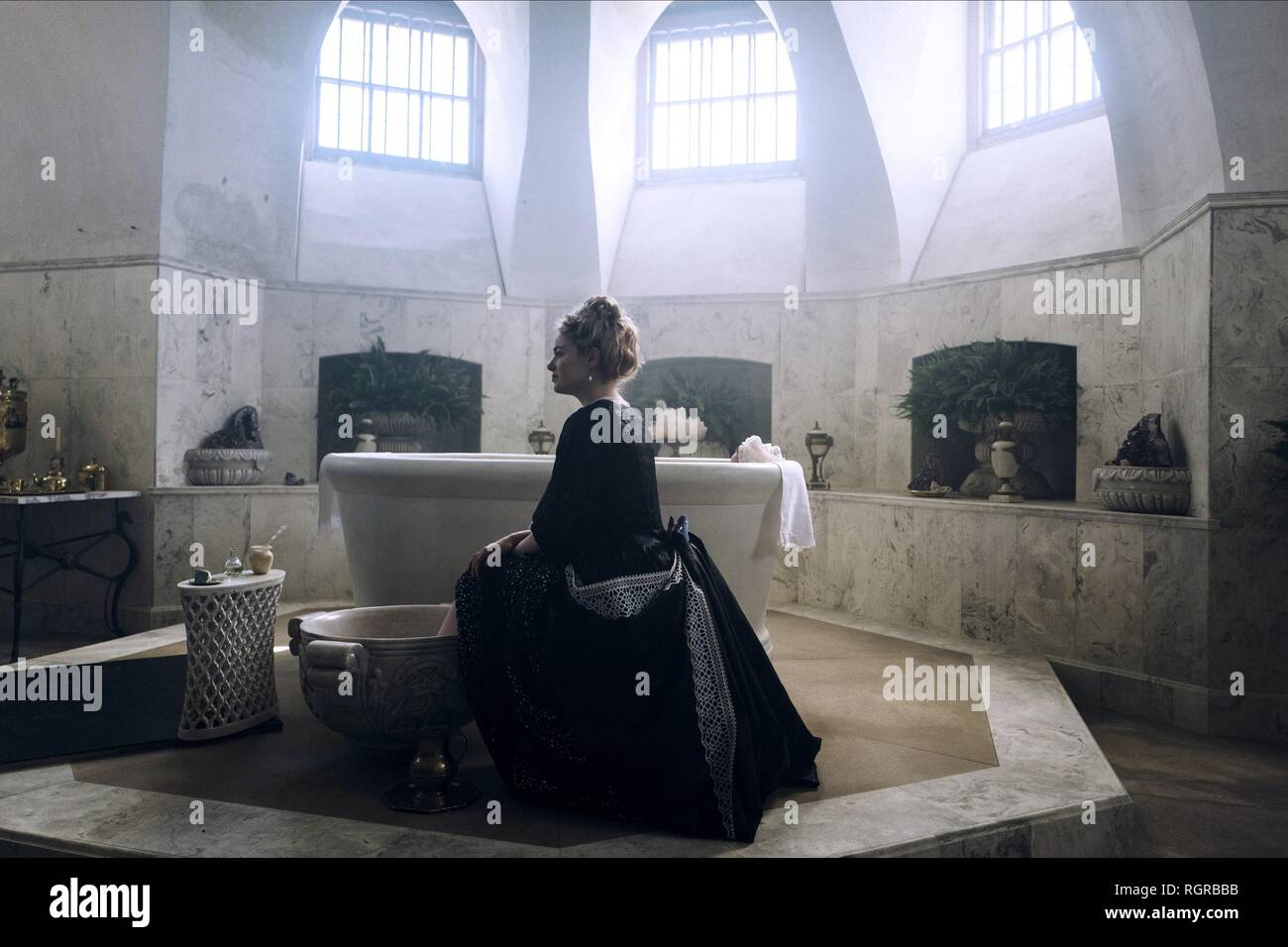 EMMA STONE THE FAVOURITE (2018) - Stock Image