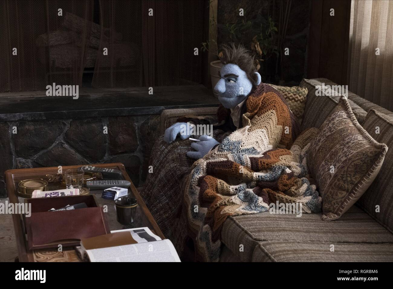 PHIL PHILIPS THE HAPPYTIME MURDERS (2018) - Stock Image