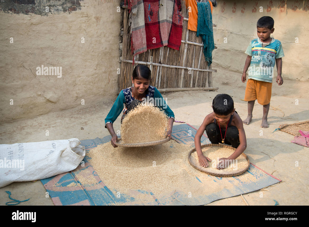 Bihar Village Stock Photos & Bihar Village Stock Images - Alamy