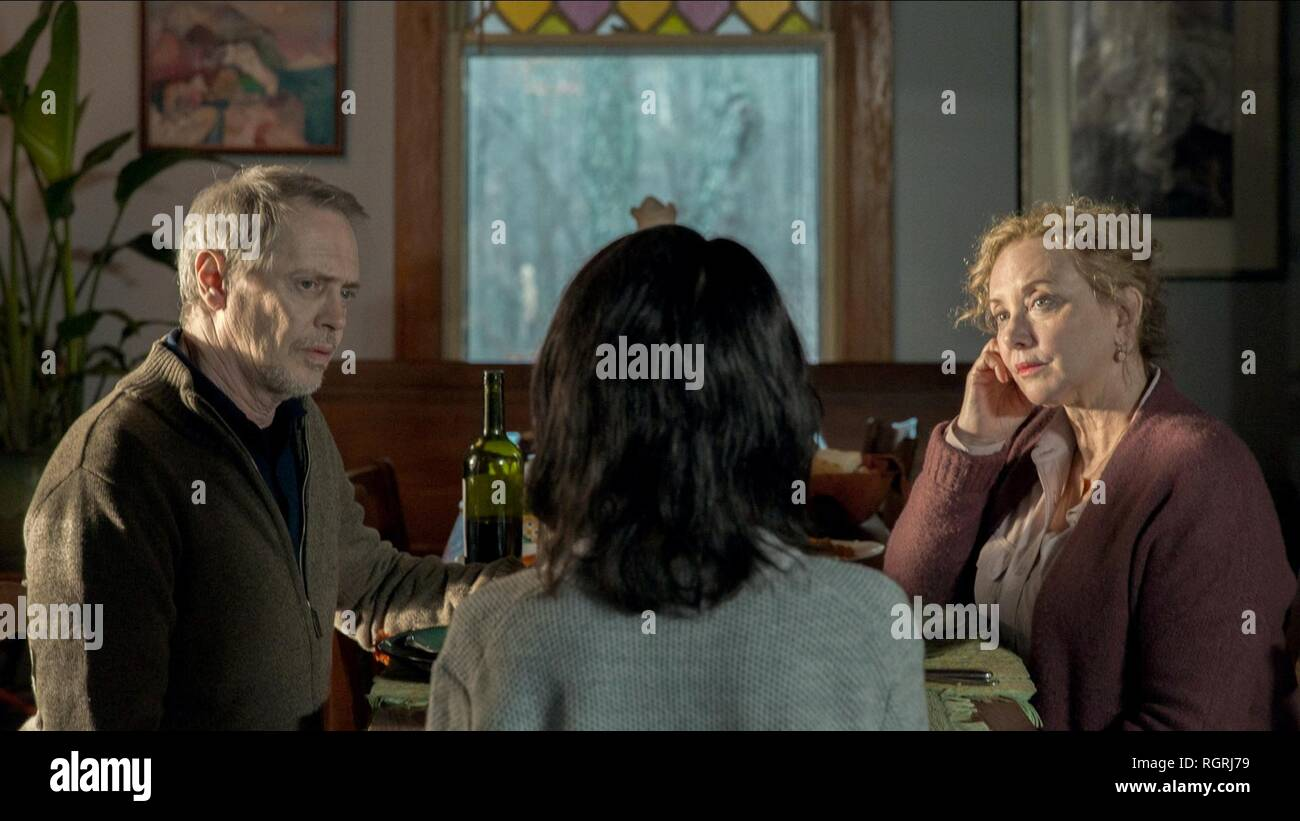 STEVE BUSCEMI & J. SMITH-CAMERON NANCY (2018) Stock Photo