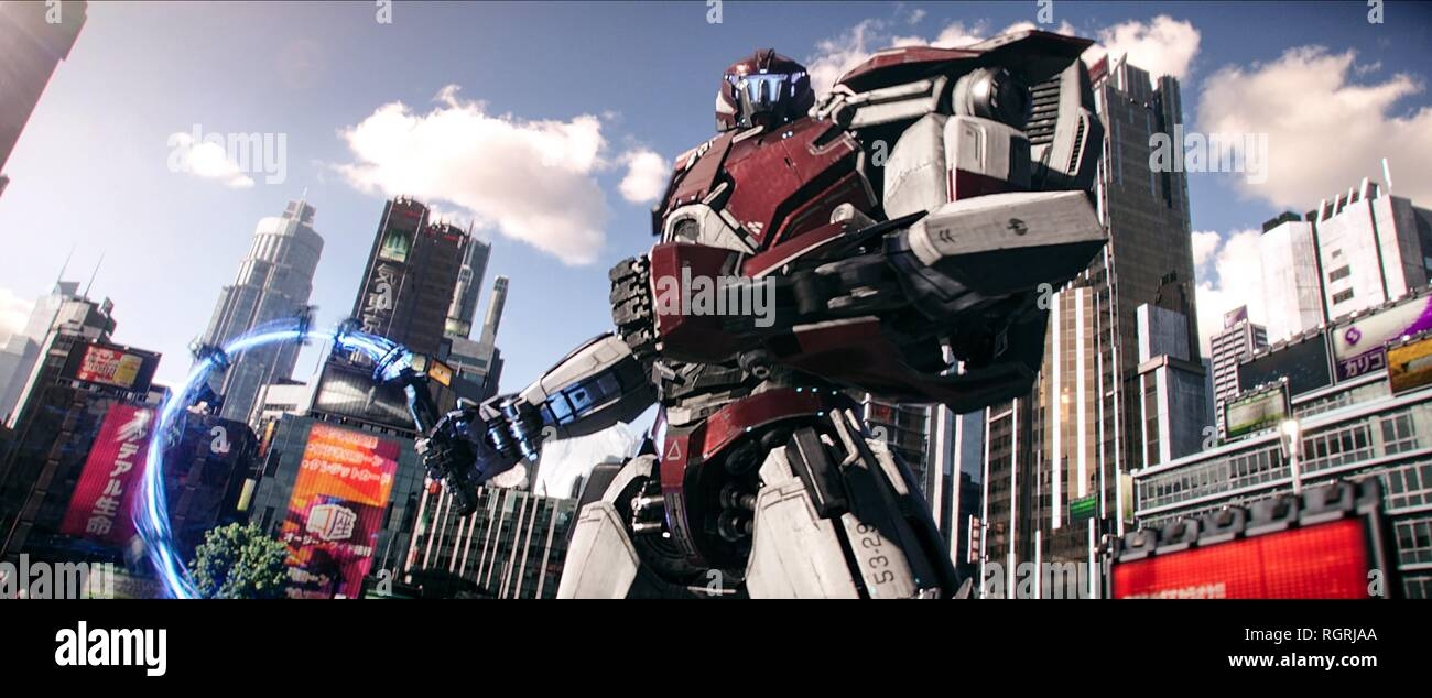 Jaeger Robot Pacific Rim Uprising 2018 Stock Photo Alamy