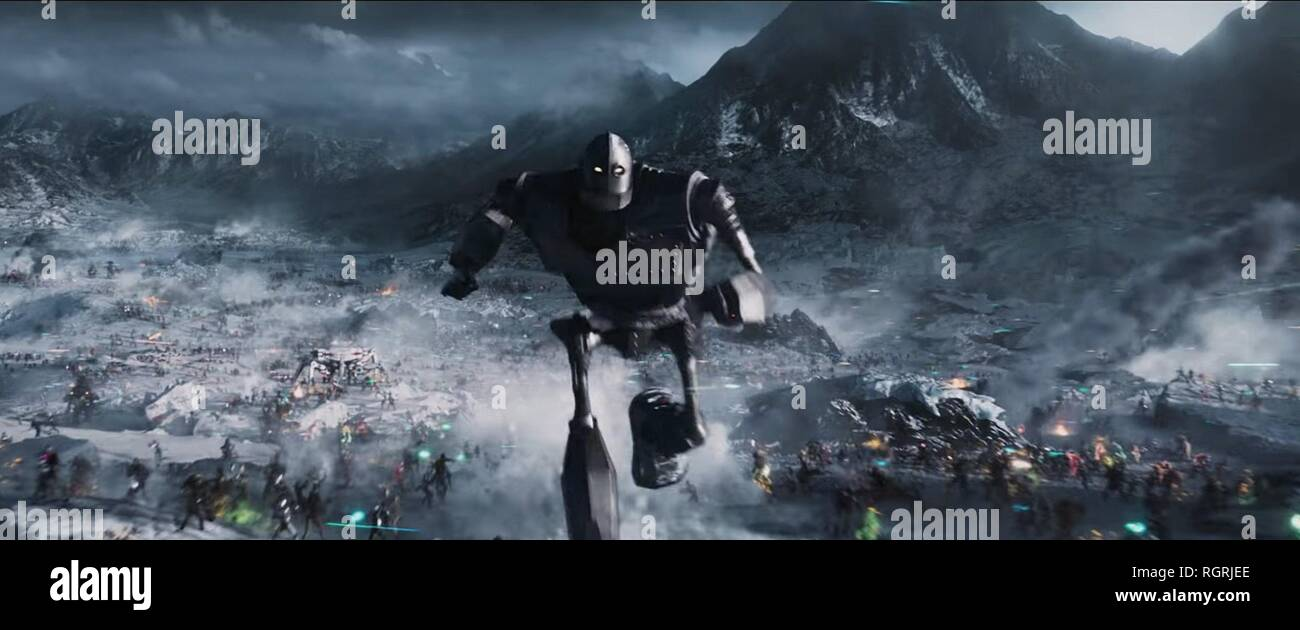 ROBOT READY PLAYER ONE (2018) - Stock Image
