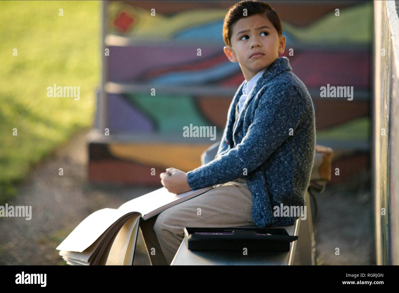 DERIC MCCABE A WRINKLE IN TIME (2018) - Stock Image