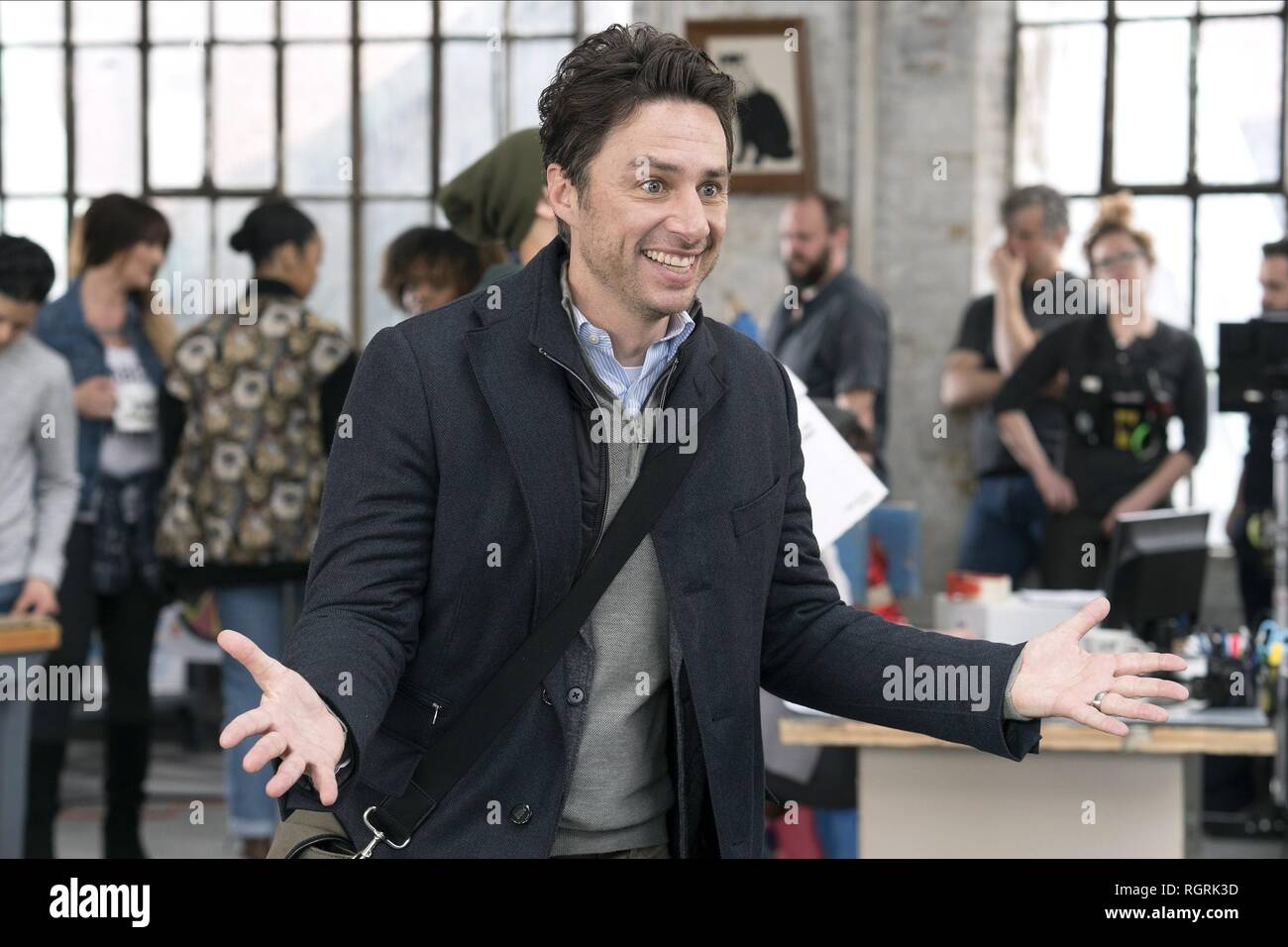 ZACH BRAFF ALEX INC. (2018) - Stock Image