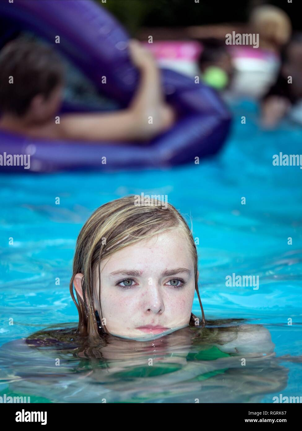 ELSIE FISHER EIGHTH GRADE (2018) Stock Photo