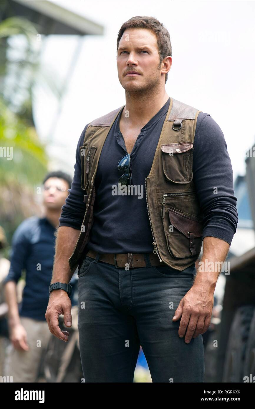 Chris Pratt Jurassic World Fallen Kingdom 2018 Stock Photo Alamy