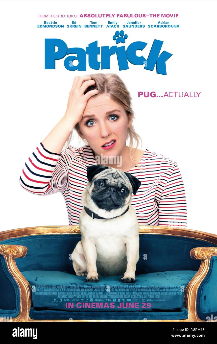 BEATTIE EDMONDSON POSTER PATRICK (2018) - Stock Image
