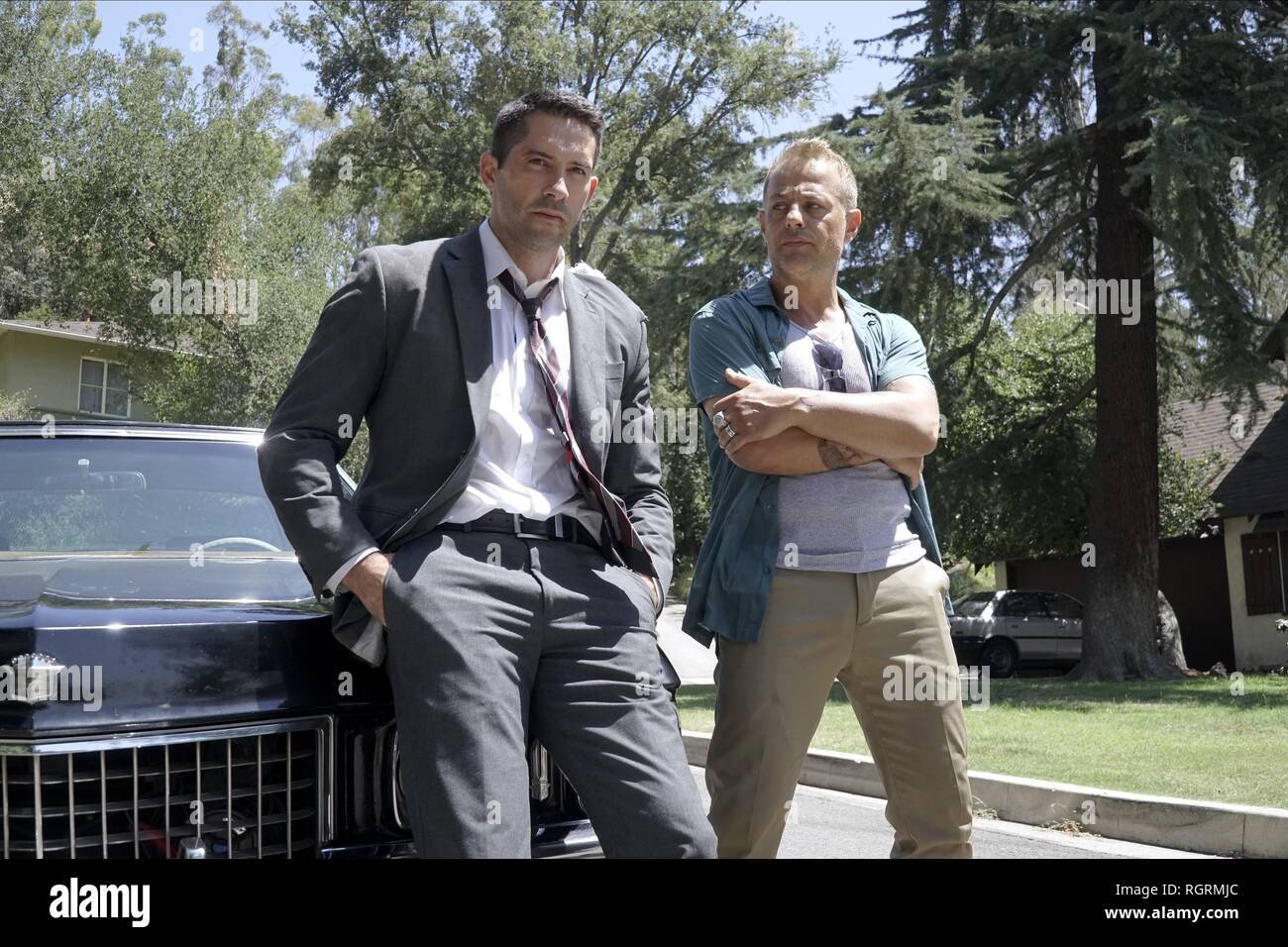 SCOTT ADKINS & LOUIS MANDYLOR  Character(s): French, Sue  Film 'THE DEBT COLLECTOR' (2018)  Directed By JESSE V. JOHNSON  26 April 2018  SAW88543  Allstar Picture Library/TARZANA PRODUCTIONS  **WARNING** This Photograph is for editorial use only and is the copyright of TARZANA PRODUCTIONS  and/or the Photographer assigned by the Film or Production Company & can only be reproduced by publications in conjunction with the promotion of the above Film. A Mandatory Credit To TARZANA PRODUCTIONS is required. The Photographer should also be credited when known. No commercial use can be granted without - Stock Image