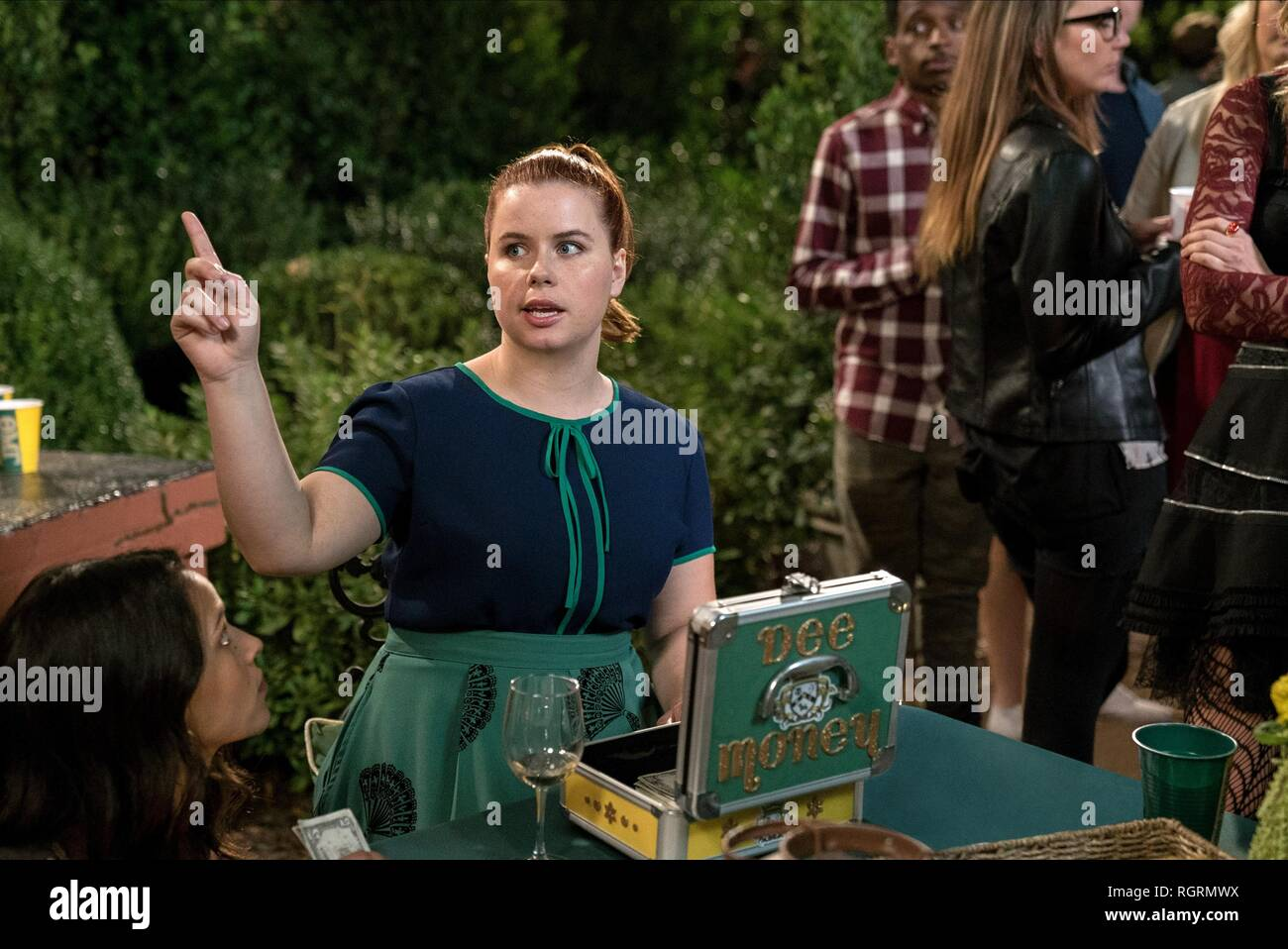 JESSIE ENNIS LIFE OF THE PARTY (2018) - Stock Image