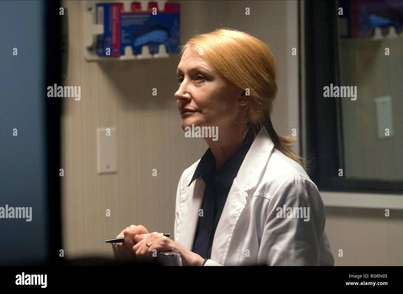 PATRICIA CLARKSON DUPLICATE; JONATHAN (2018) - Stock Image