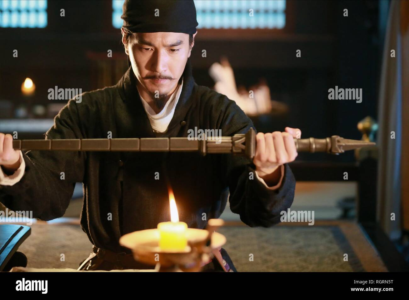 MARK CHAO DETECTIVE DEE: THE FOUR HEAVENLY KINGS; DI RENJIE ZHI SIDATIANWANG (2018) - Stock Image