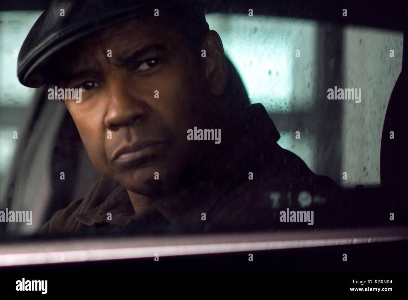 Denzel Washington The Equalizer 2 2018 Stock Photo Alamy