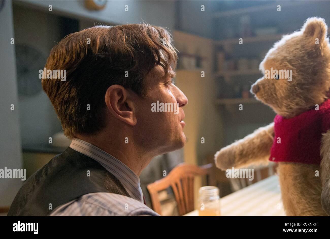 Ewan Mcgregor Winnie The Pooh Christopher Robin 2018 Stock Photo Alamy