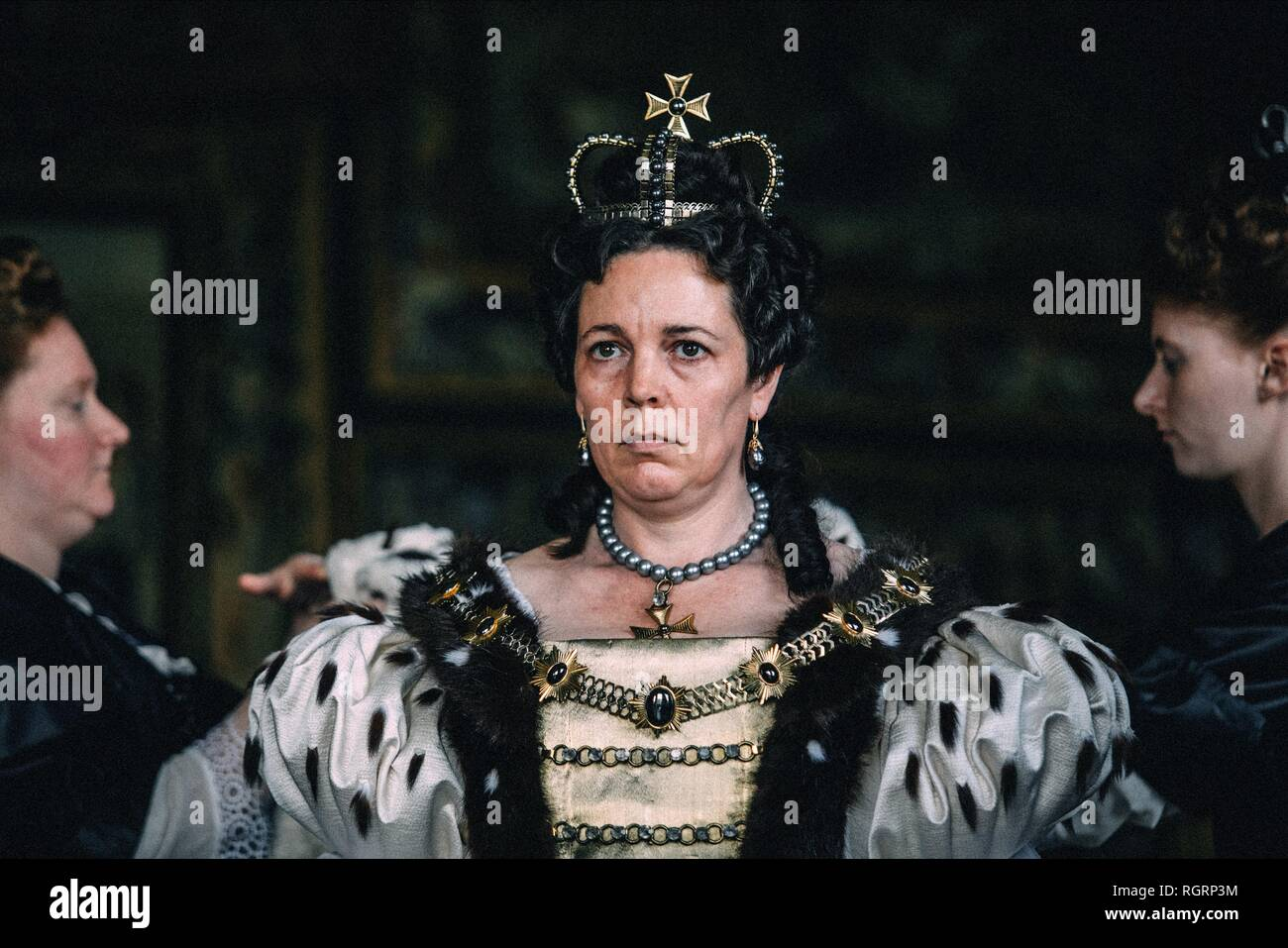 OLIVIA COLMAN THE FAVOURITE 2018 - Stock Image