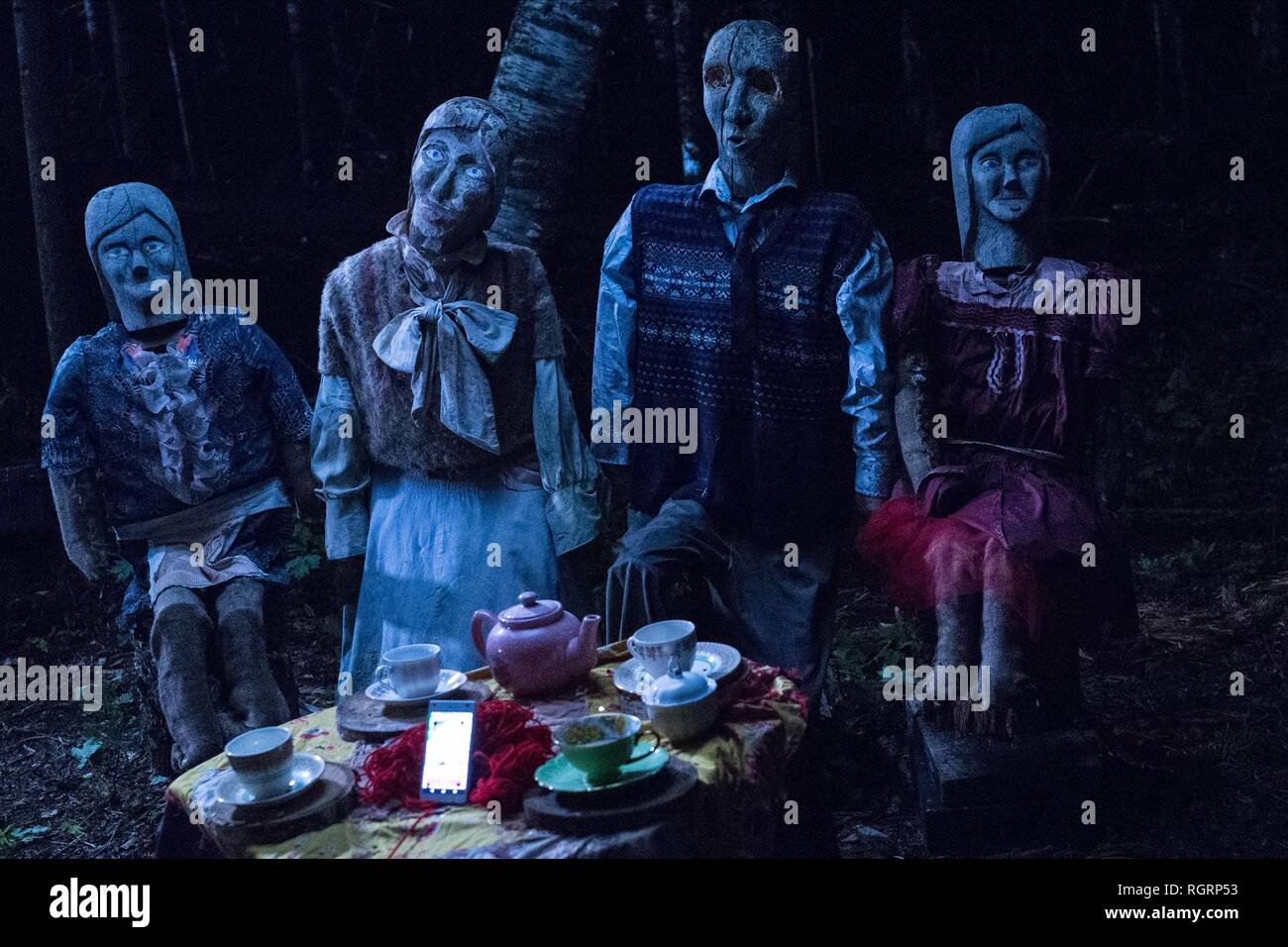EFFIGY FAMILY HE'S OUT THERE (2018) - Stock Image