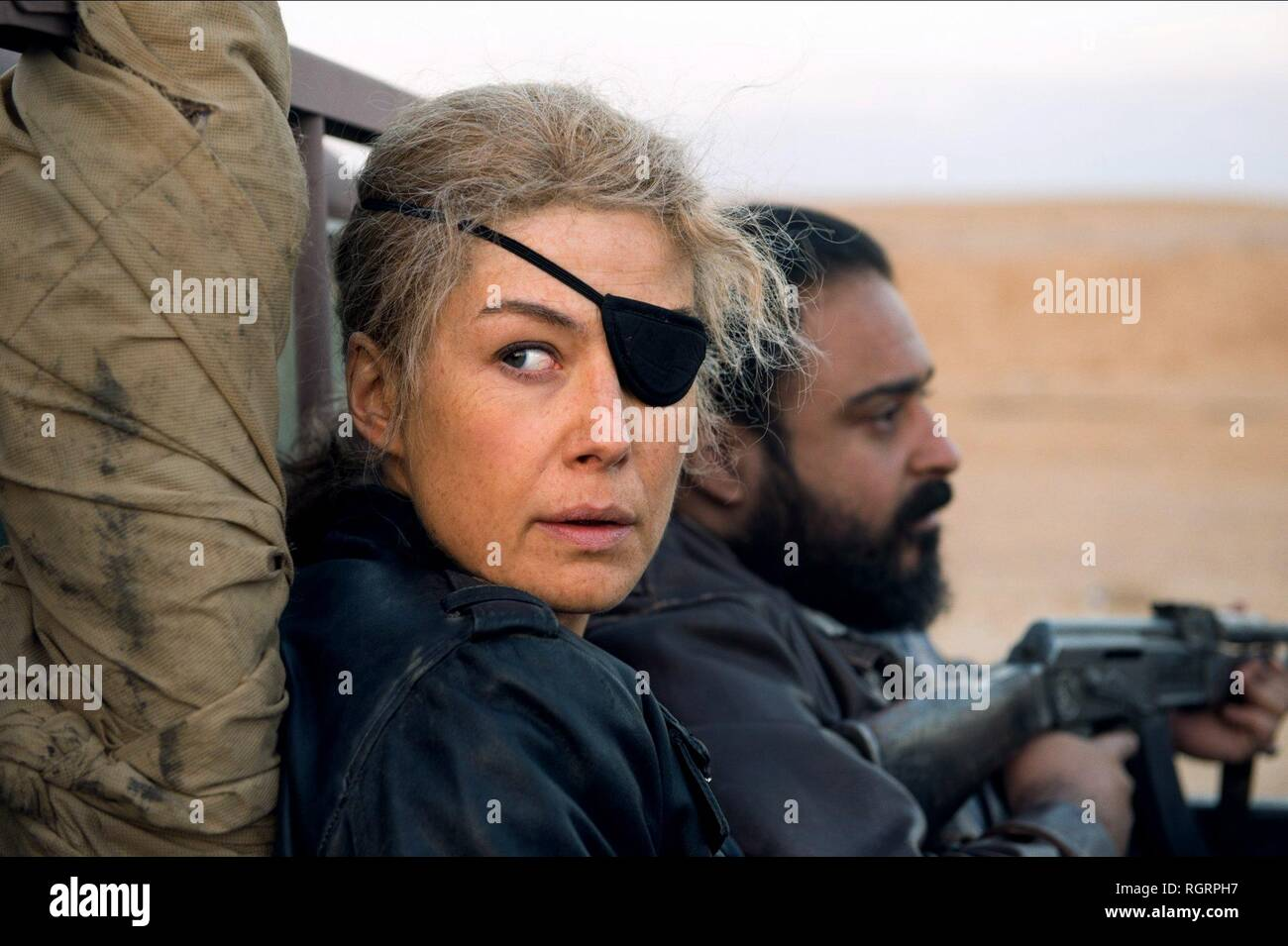 A PRIVATE WAR, ROSAMUND PIKE, 2018 - Stock Image