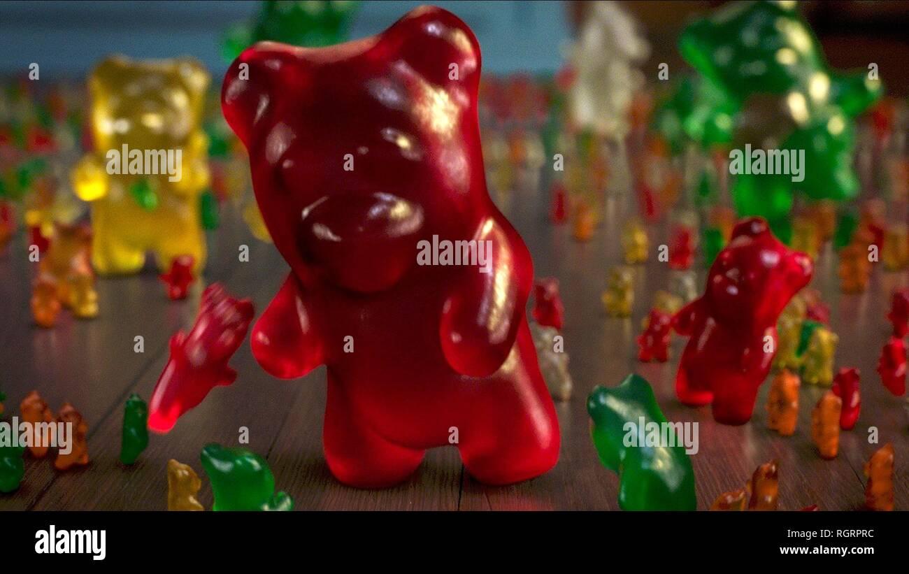 Goosebumps Haunted Halloween Gummy Bear Commercial 2020 GUMMY BEARS, GOOSEBUMPS 2: HAUNTED HALLOWEEN, 2018 Stock Photo   Alamy