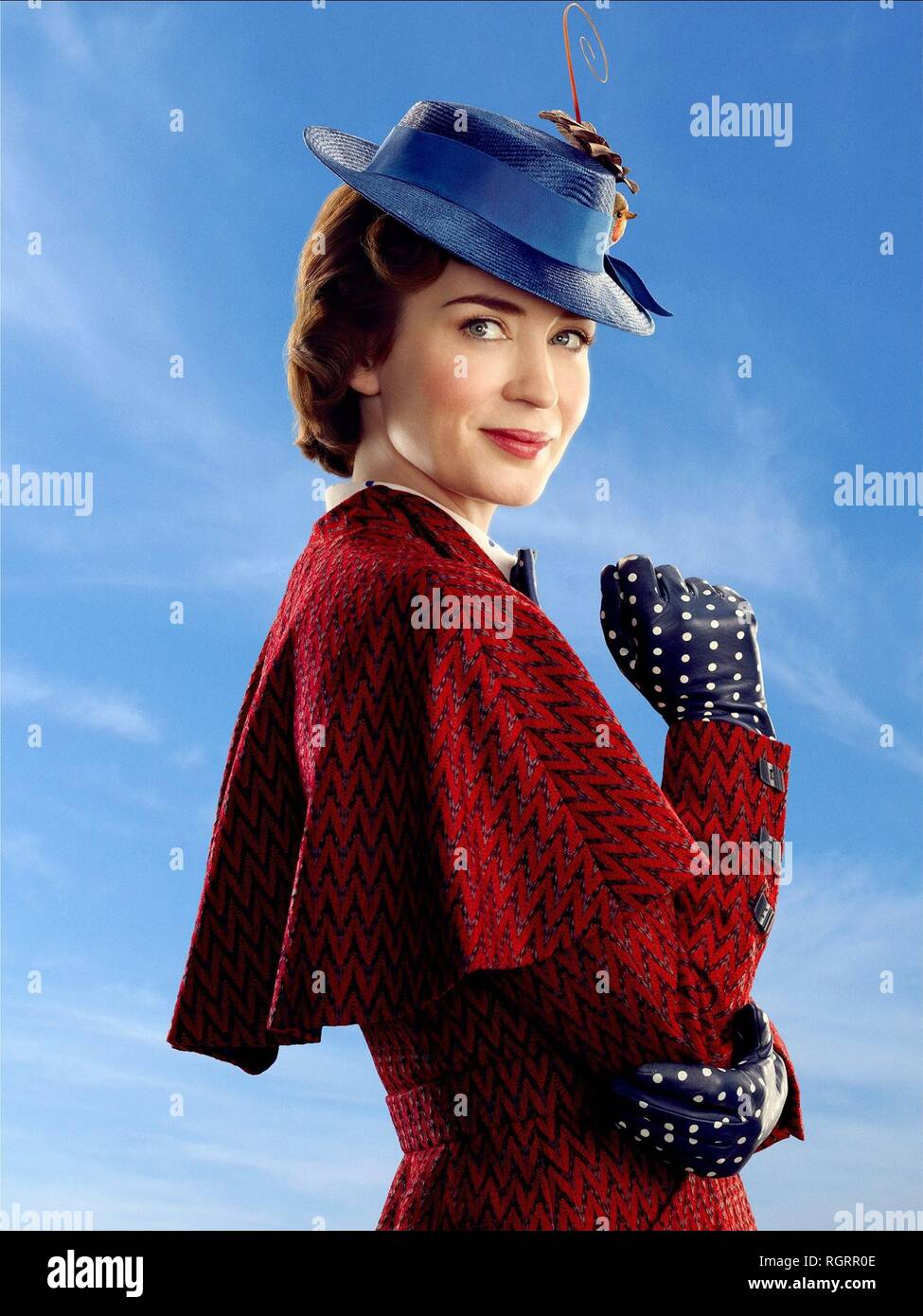 MARY POPPINS RETURNS, EMILY BLUNT, 2018 - Stock Image