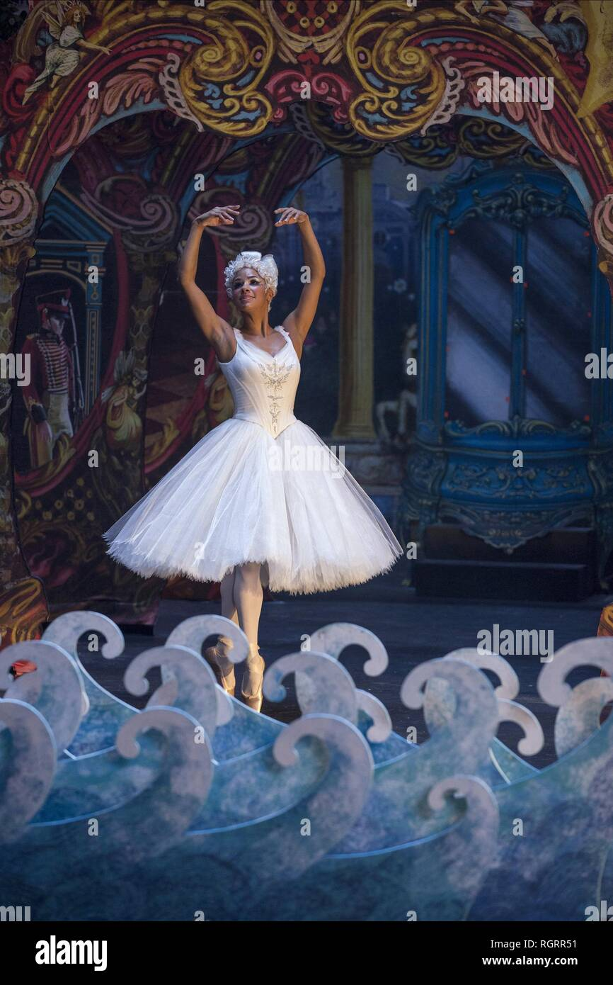 THE NUTCRACKER AND THE FOUR REALMS, MISTY COPELAND, 2018 - Stock Image