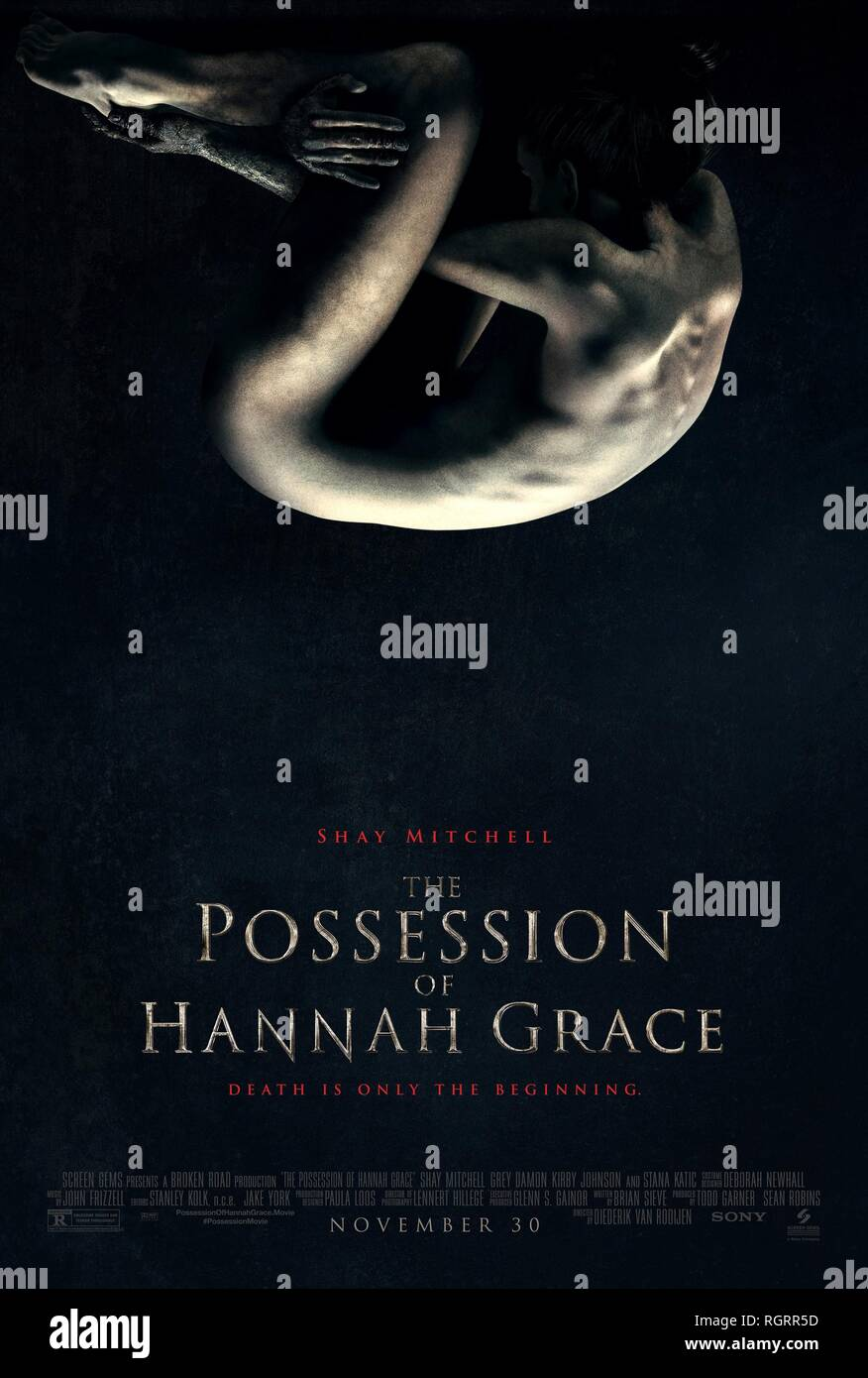 THE POSSESSION OF HANNAH GRACE, MOVIE POSTER, 2018 - Stock Image