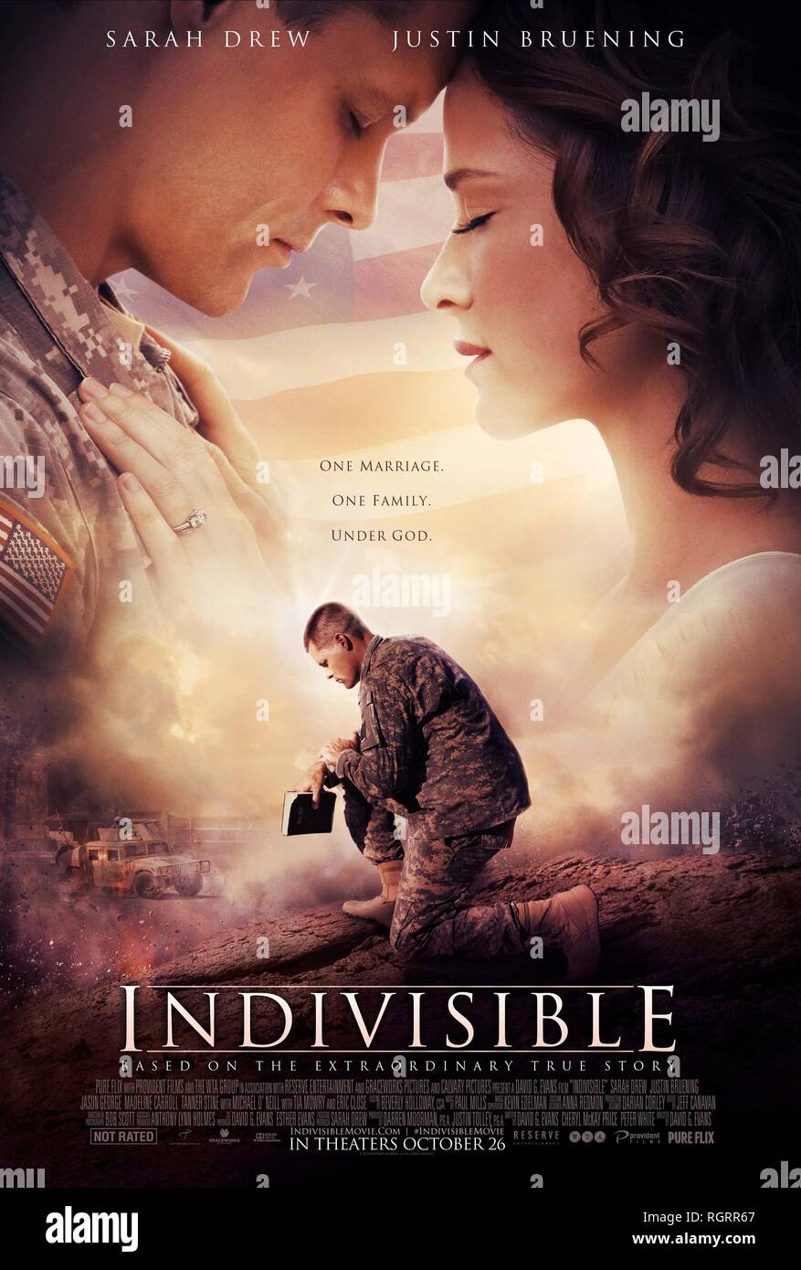 INDIVISIBLE, MOVIE POSTER, 2018 - Stock Image