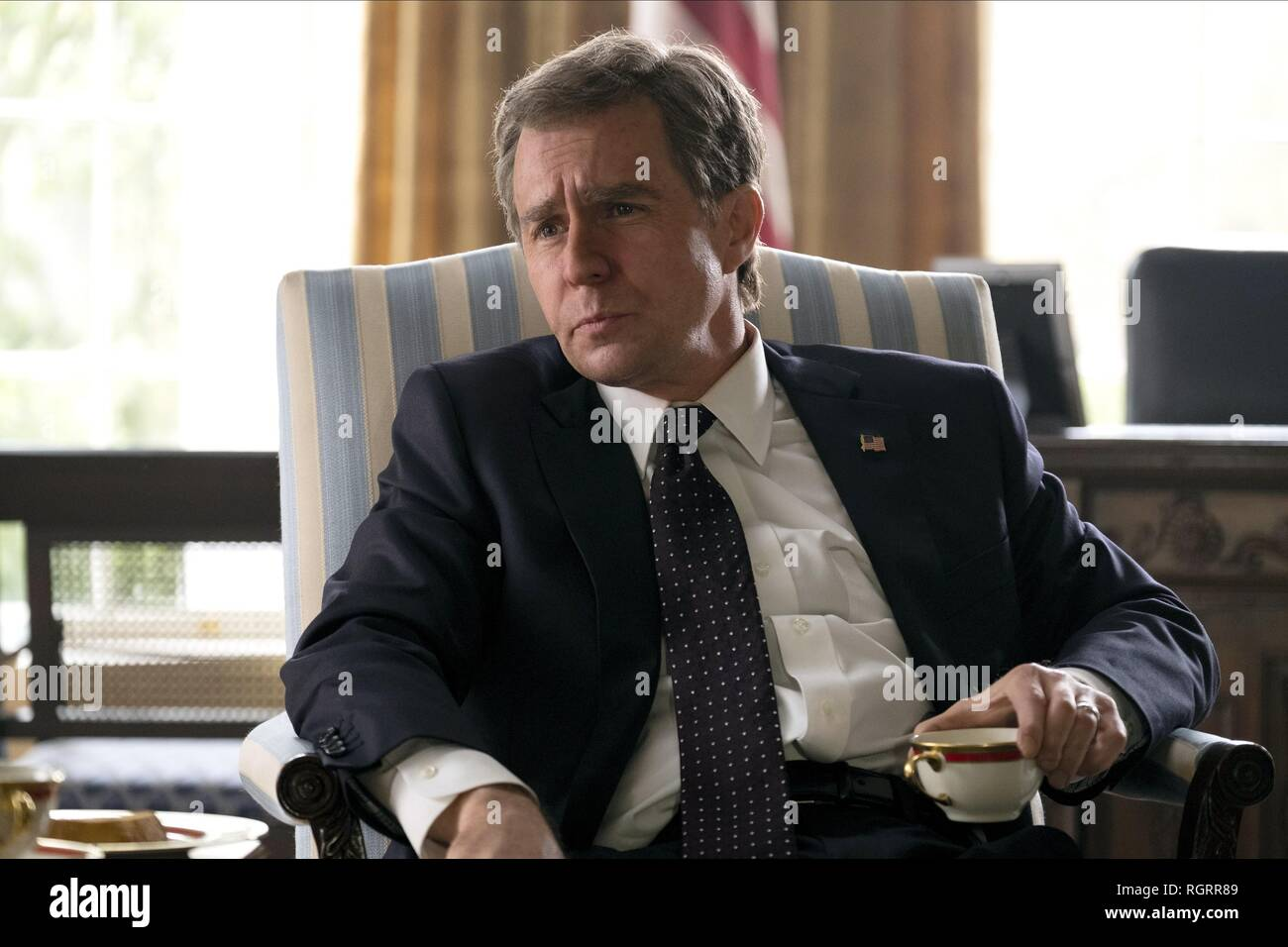 VICE, SAM ROCKWELL, 2018 Stock Photo