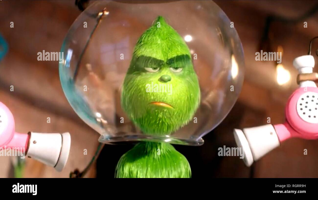 THE GRINCH, THE GRINCH, 2018 - Stock Image