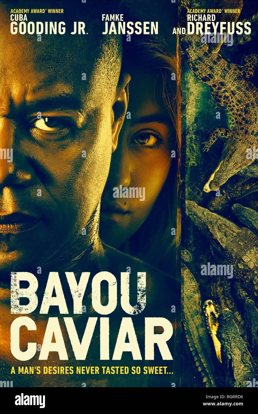 BAYOU CAVIAR, MOVIE POSTER, 2018 - Stock Image