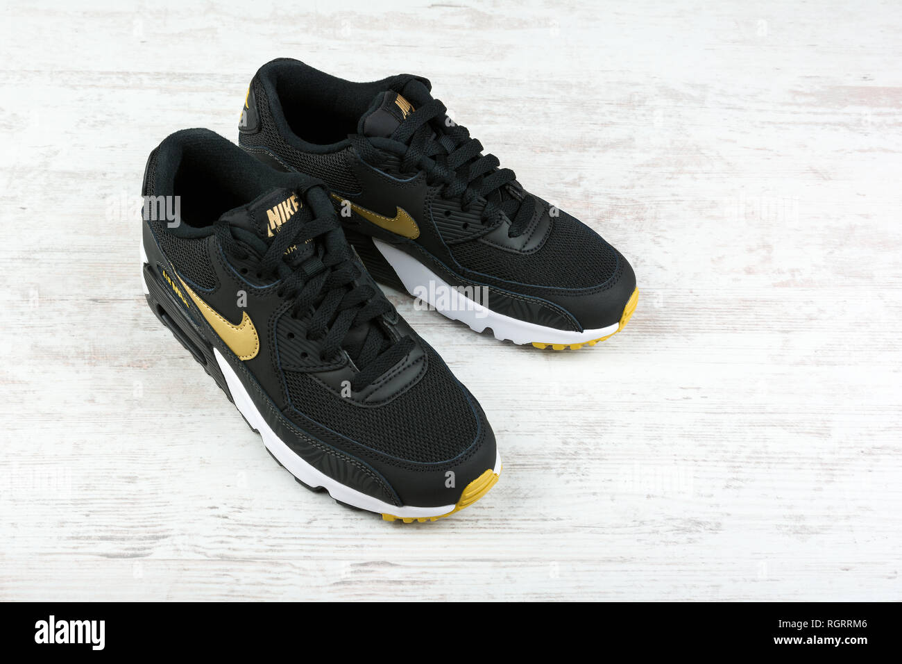 pretty nice 854ef d9f5d BURGAS, BULGARIA - DECEMBER 29, 2016  Nike Air MAX women s shoes - sneakers