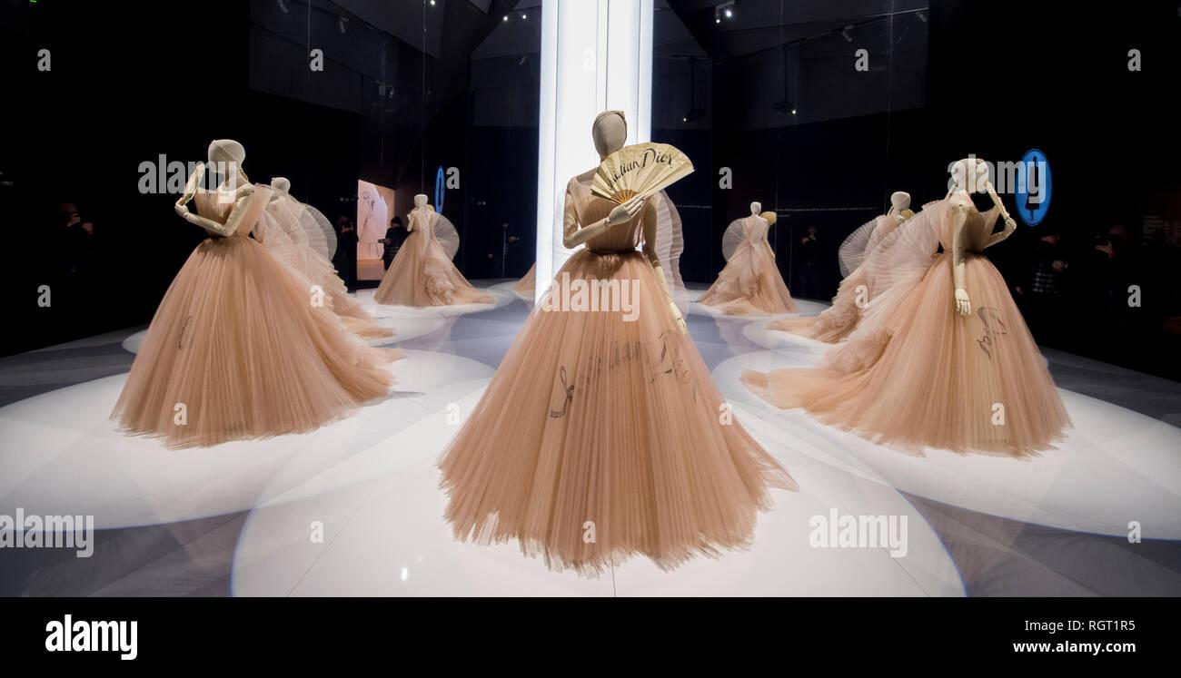 V&A, London, UK 30 Jan 2019 Christian Dior: Designer of Dreams