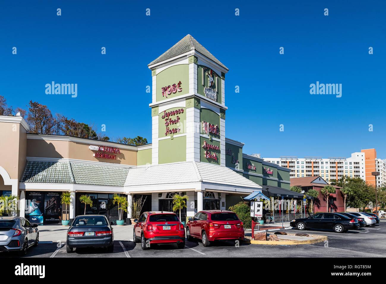 Kobe Japanese Steak House, Kissimmee, Florida, USA. - Stock Image