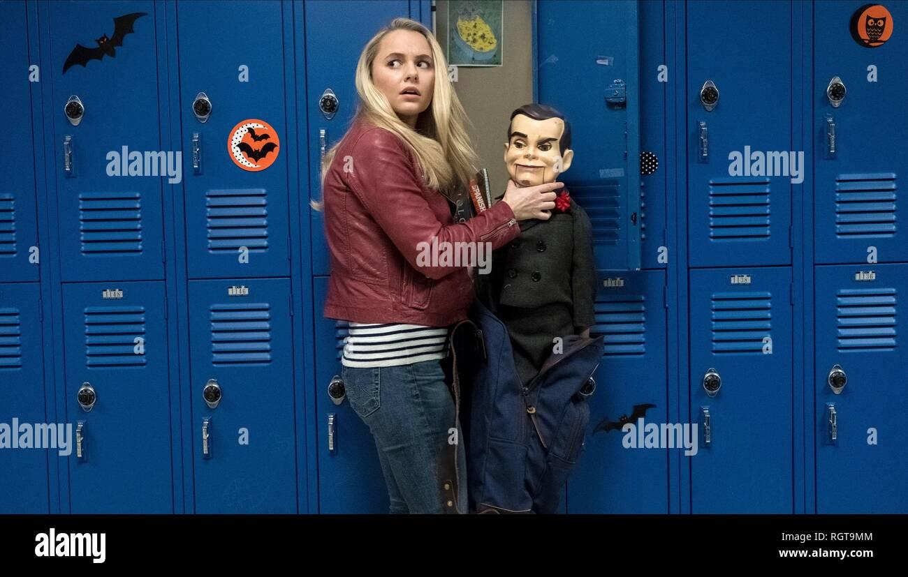 Goosebumps 2 Haunted Halloween Madison Iseman Slappy The