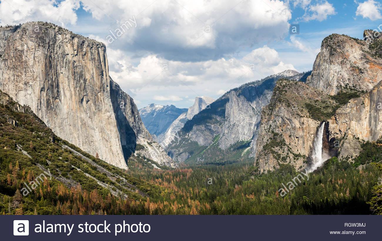 Yosemite Valley. Yosemite National Park, CA Stock Photo