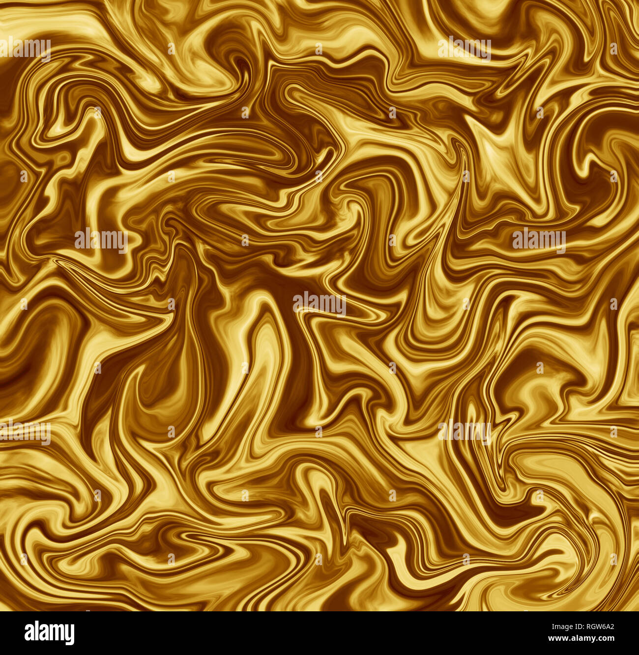 High Resolution Liquid Marble Texture Design Golden Marbling Satin Or Silk Like Surface Vibrant Abstract Digital Paint Design Background Stock Photo Alamy