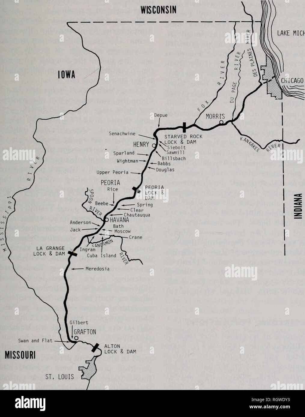 Image of: Bulletin Natural History Natural History Aug 1979 Bellrose Et Al Waterfowl And The Changing Illinois Valley 7 Wooded Vegetation Line On The U S Series Of The Woemiann 1902 1904 Army Corps Of Engineers