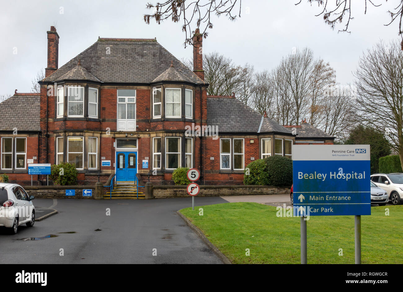 Bealey Community Hospital in Radcliffe, Manchester. - Stock Image