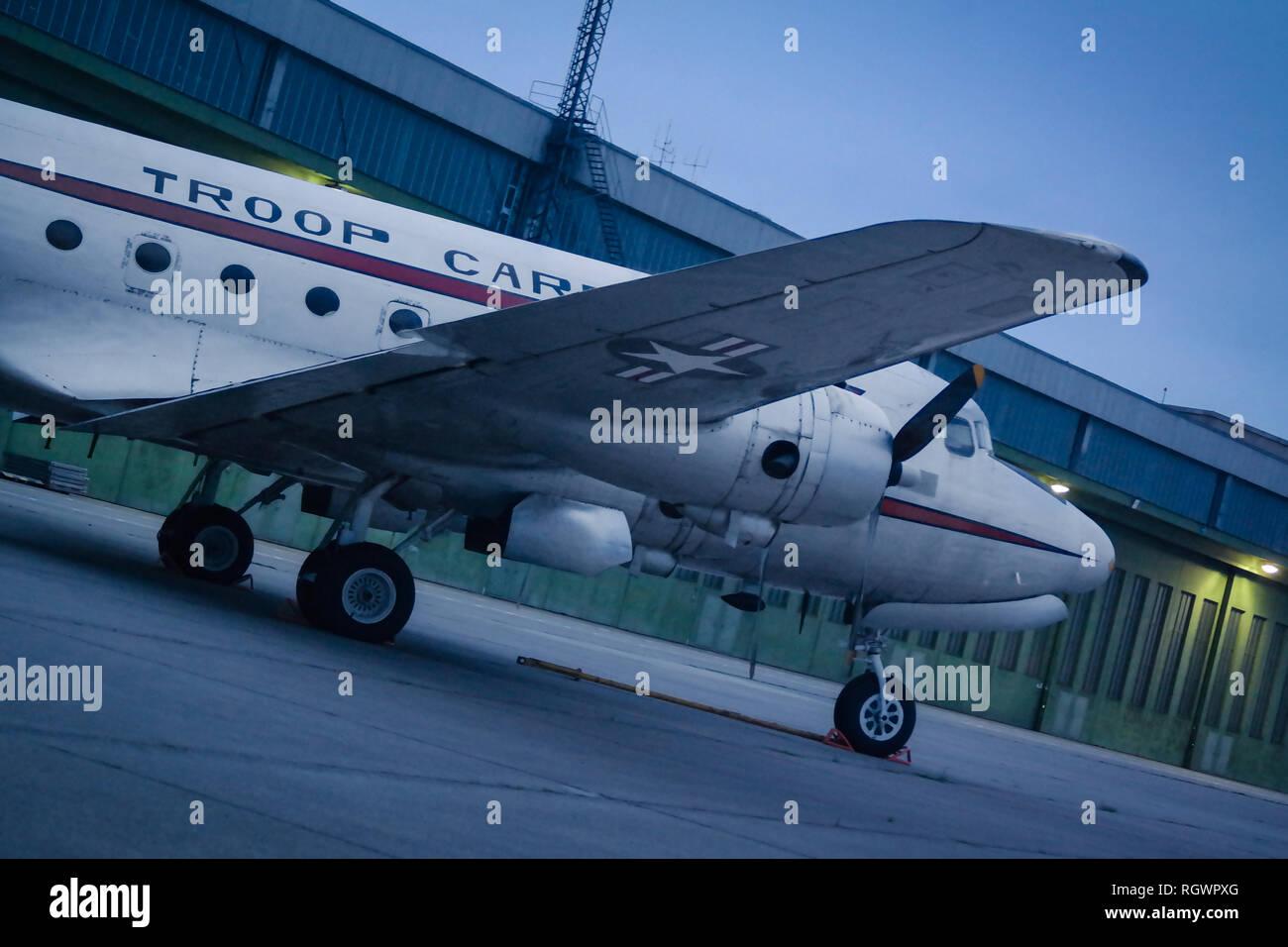 Berlin, Tempelhof, Flughafen - Stock Image