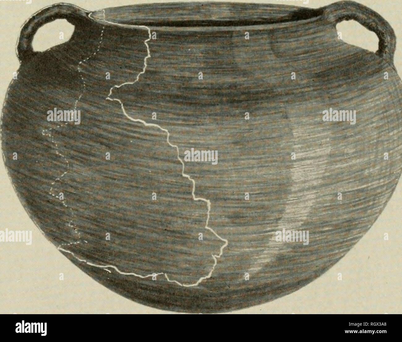 Bulletin  Ethnology  Drawing Restoration of Water Bottle